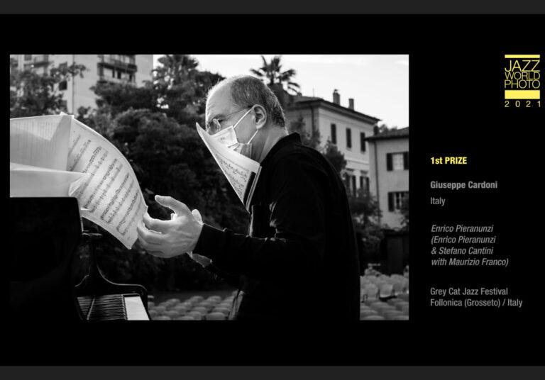 "Giuseppe Cardoni Vince il ""Jazz World Photo 2021"""