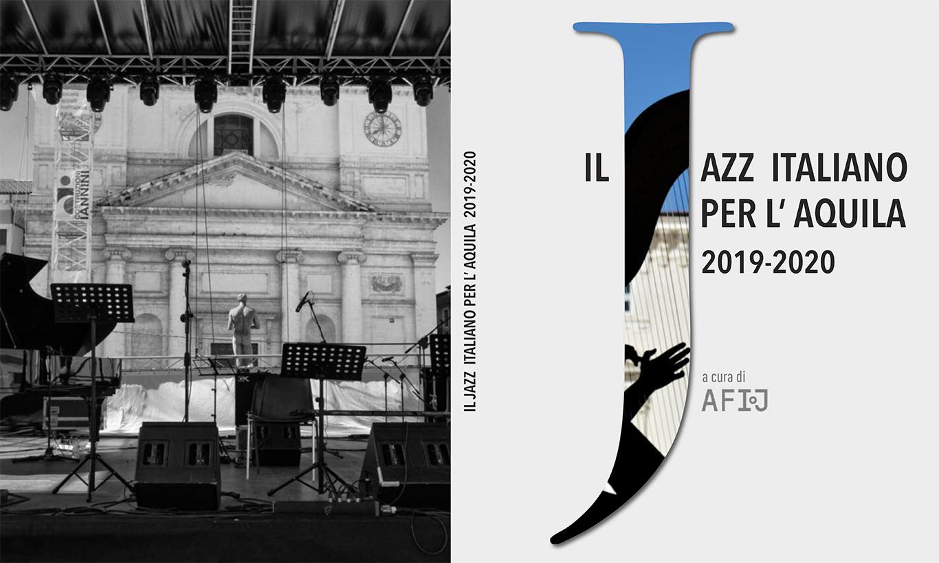 """Libro fotografico """"Il Jazz italiano per l'Aquila 2019-2020"""""""